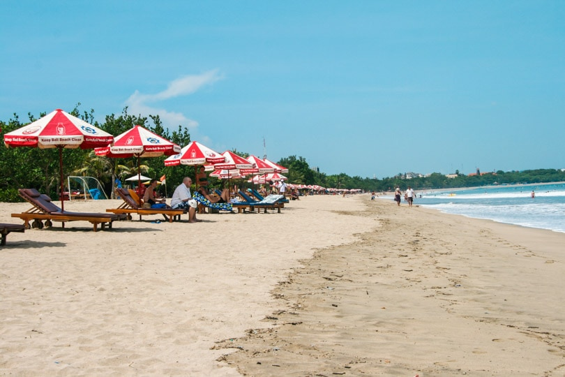 Tourist area nr. 1, Kuta Beach Bali