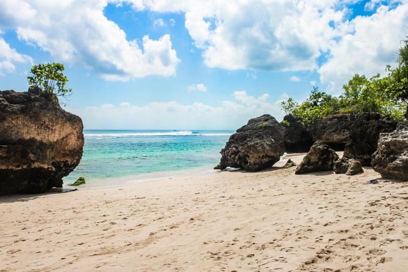 Beautiful PadangPadang Beach on the Bukit Peninsula Bali