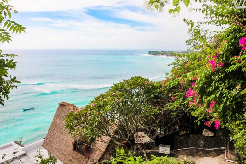 Bingin Beach Bali view