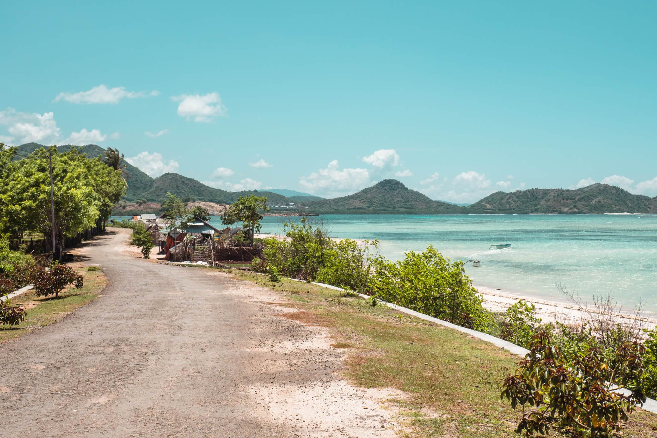 Road leading to Kertasari Village from Whales & Waves Resort in Sumbawa, Indonesia - The most amazing place I've ever been