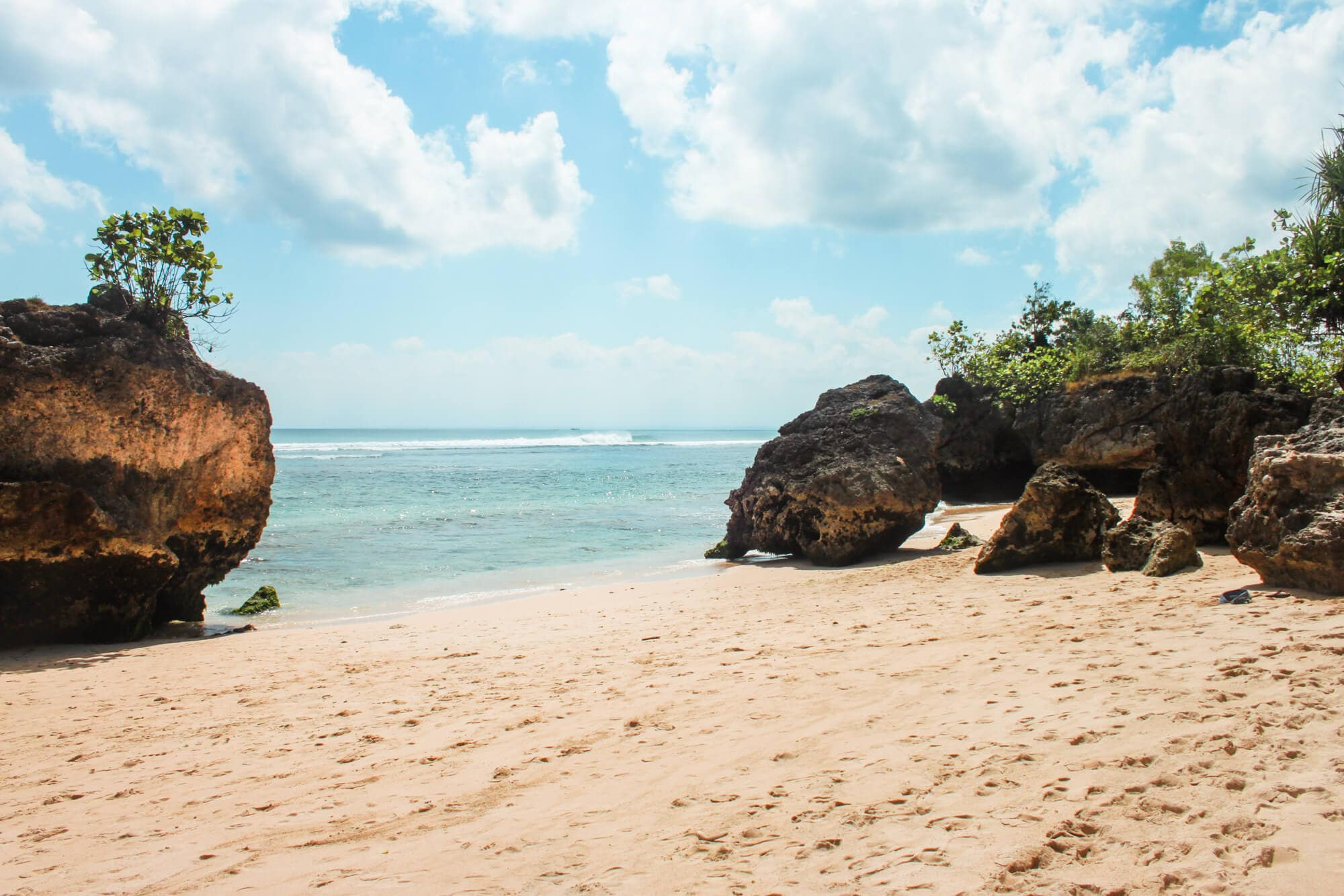 Where to stay in Bali: A complete guide to the different areas on the island - Padang Padang Beach in South Bali