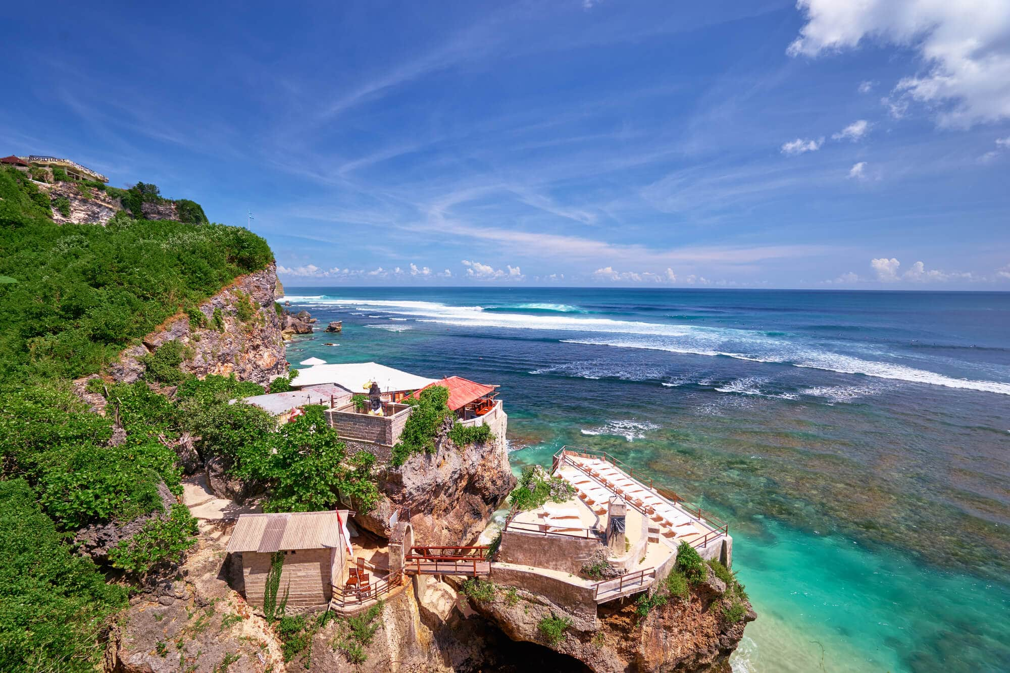 Where to stay in Bali: A complete guide to the different areas on the island - Uluwatu Cliff in South Bali
