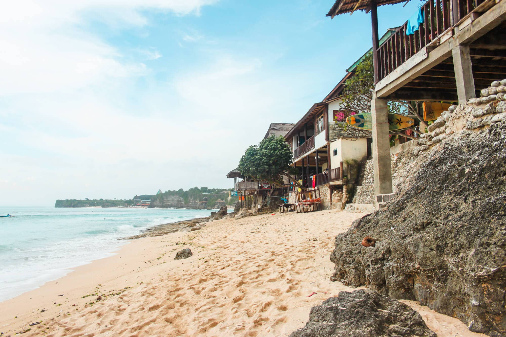 Where to stay in Bali: A complete guide to the different areas on the island - Bingin Beach in South Bali