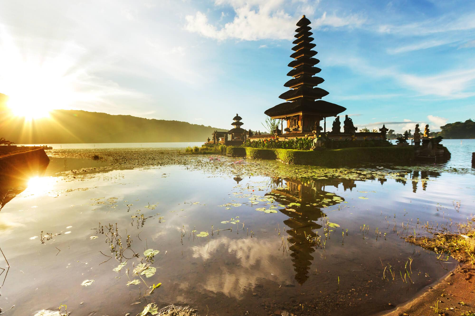 Where to stay in Bali: A complete guide to the different areas on the island - Ulun Danu Beratan Temple in North Bali