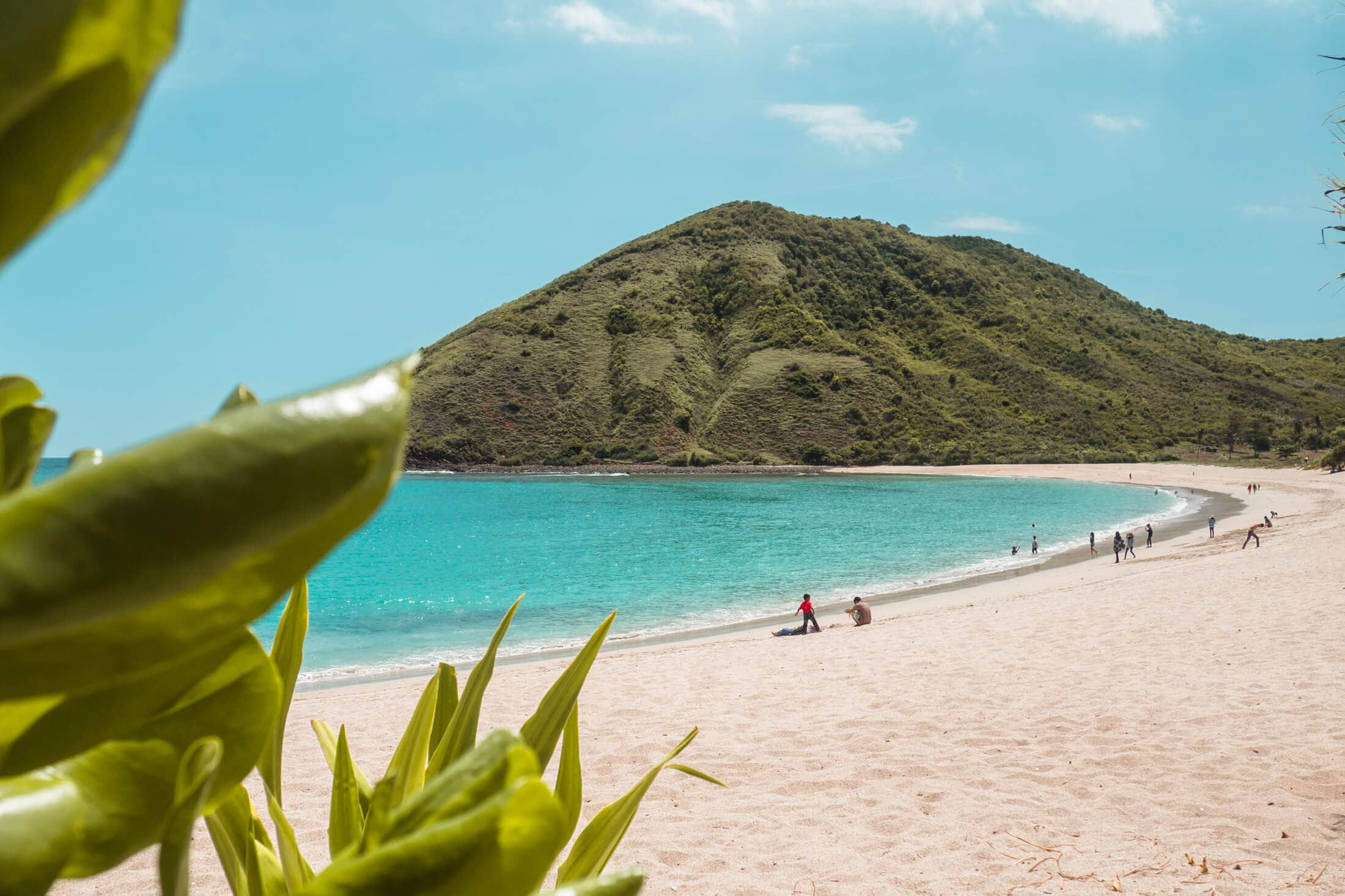 Mawun one of the best beaches in Lombok