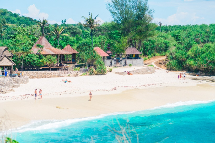 Dream Beach Amp Sandy Bay Beach Club Nusa Lembongan