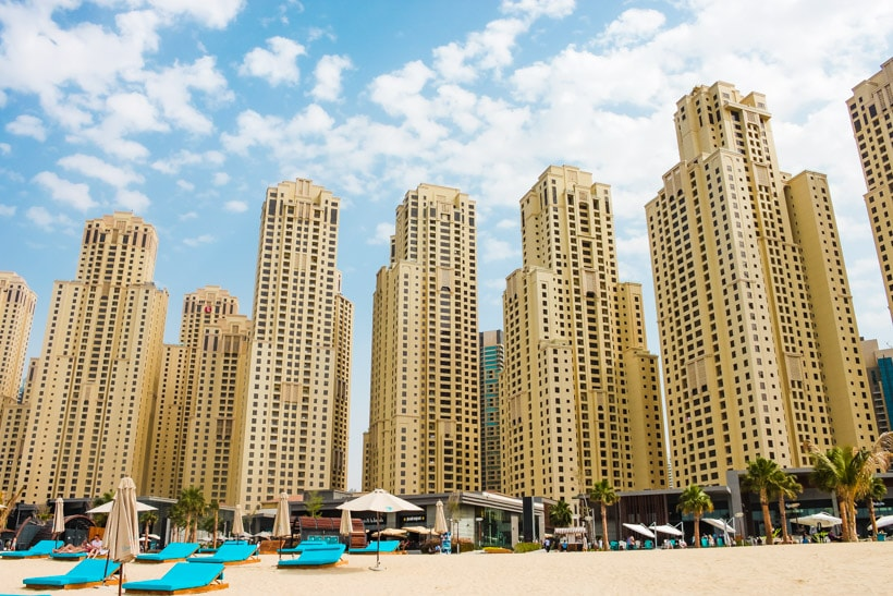 Dubai Marina Beach Travel Guide