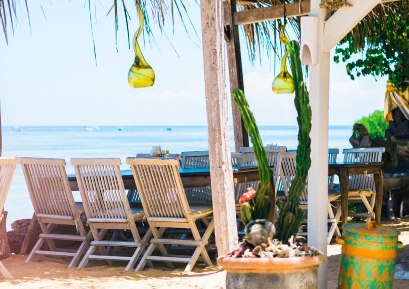 Warung Agung Mangrove Forest Nusa Lembongan restaurant