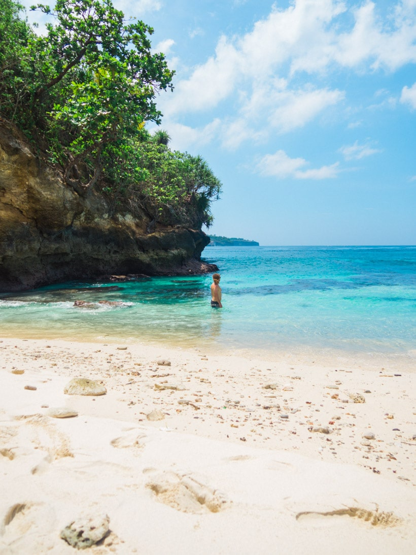 The best Secret Beach Nusa Ceningan