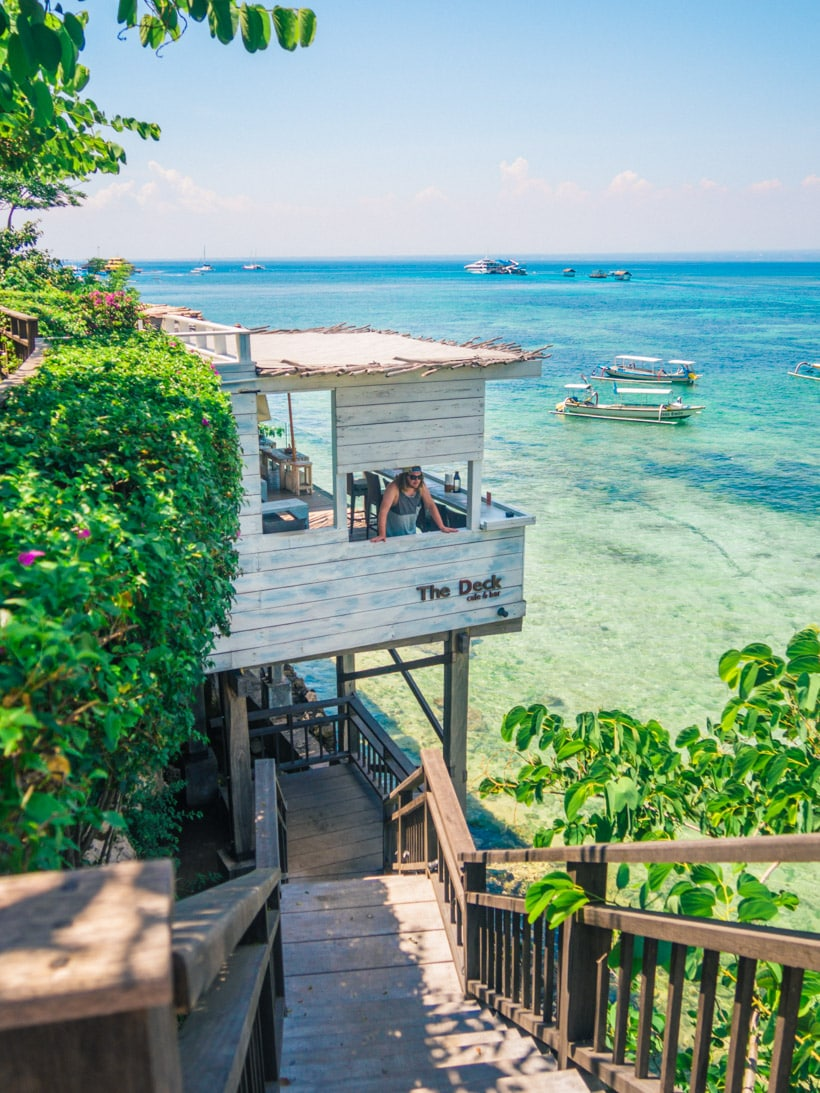 Stunning The Deck Nusa Lembongan Restaurant Review