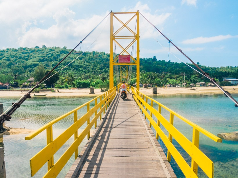 Yellow Bridge, Nusa Ceningan Nusa Lembongan
