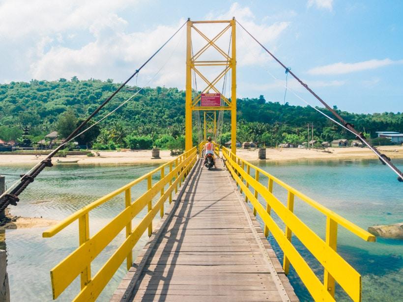Yellow Bridge, Nusa Ceningan Nusa Lembongan