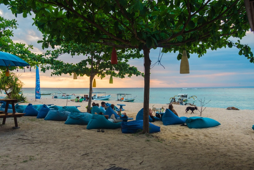 Blue Corner Bar & Restaurant Nusa Lembongan 10 best restaurants