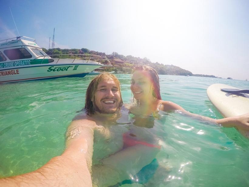 Paddle Boarding Nusa Lembongan Paradise