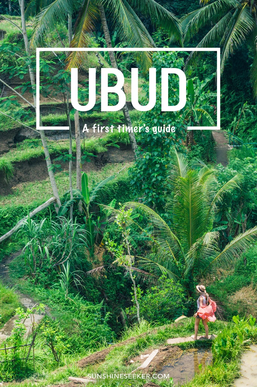 First Timer Guide Ubud Bali Sunshine Seeker