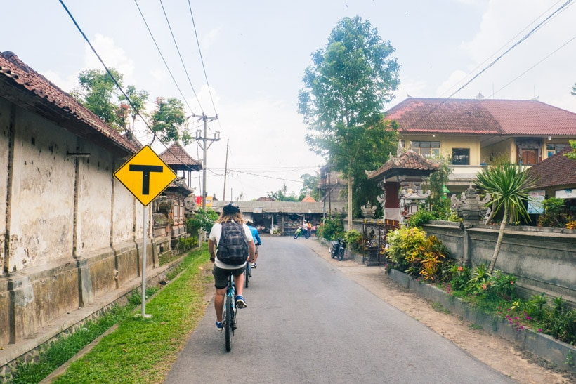 Jegeg Bali Cycling Tour in Ubud - A first timer's guide to Ubud