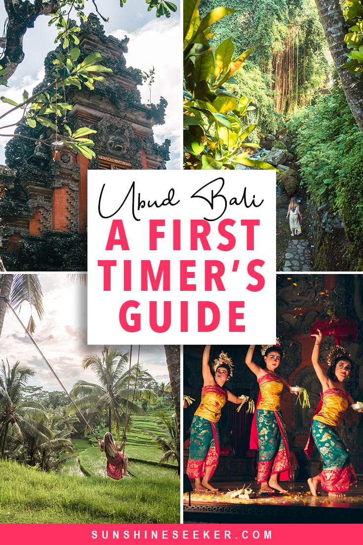 A first timer's guide to Ubud Bali. Top 10+ things to do in and around the green heart of Bali #ubud #bali #bucketlist #travelinspo #tegenunganwaterfall