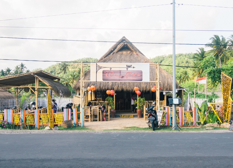 The cheapest destination I've visited so far! The south coast of Lombok, restaurants