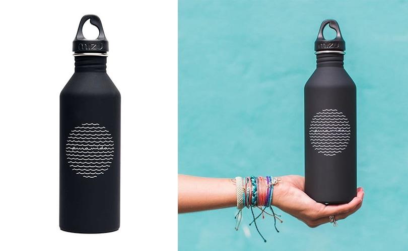 10 gift ideas for travel girls - Pura Vida stainless steel water bottle