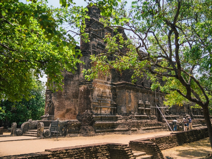 The incredible ancient city of Polonnaruwa - A must visit while in Sri Lanka - Lankatilaka Buddha Statue