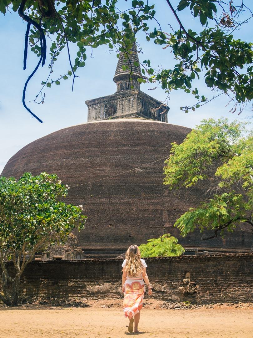 The incredible ancient city of Polonnaruwa - A must visit while in Sri Lanka - Rankot Vihara