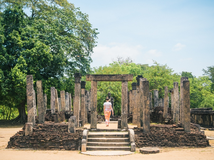 The incredible ancient city of Polonnaruwa - A must visit while in Sri Lanka - The Sacred Quadrangle