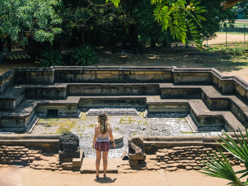 The incredible ancient city of Polonnaruwa - A must visit while in Sri Lanka - The King's Swimming Pool