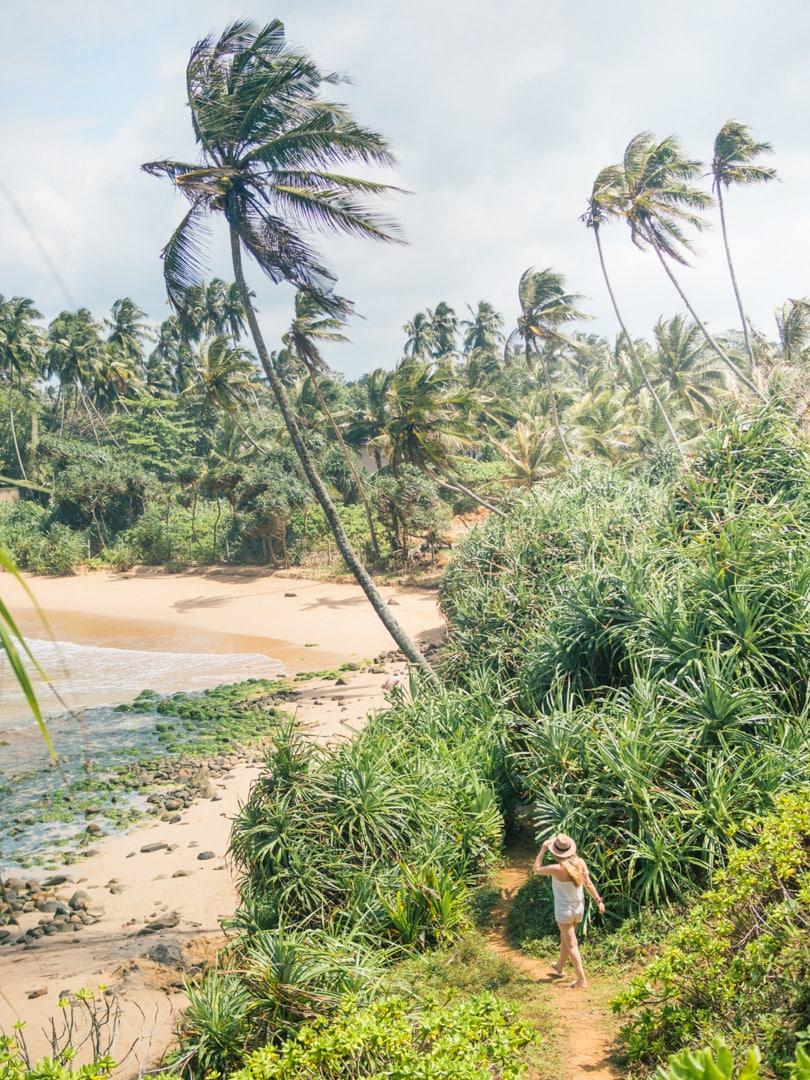 Talalla Beach, Sri Lanka - Jungle girl