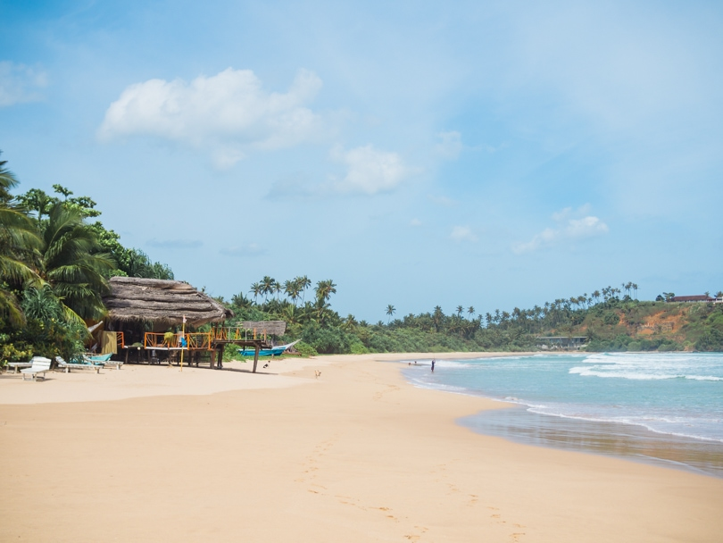 The ultimate two week Sri Lanka itinerary - Talalla Beach