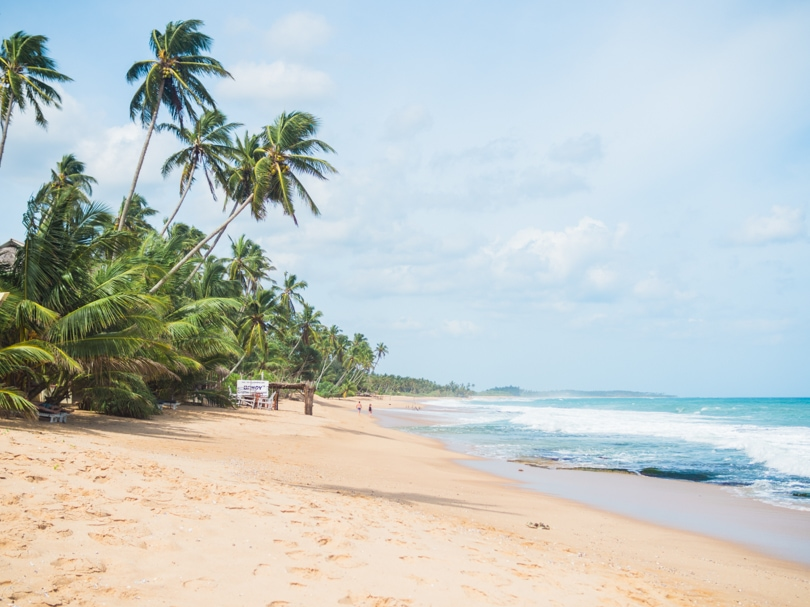 The ultimate two week Sri Lanka itinerary - Tangalle Beach