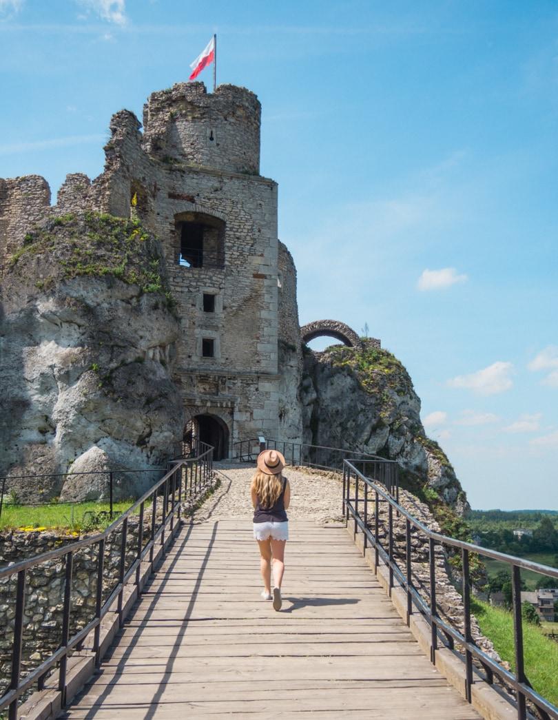 Favorite travel photos of 2016 - Ogrodzieniec Castle, Poland
