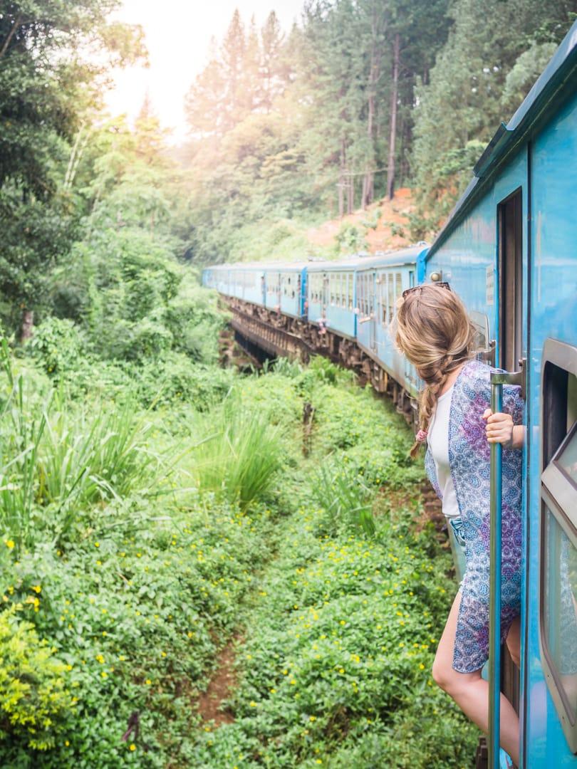 Favorite travel photos of 2016 - train Kandy to Ellan, Sri Lanka