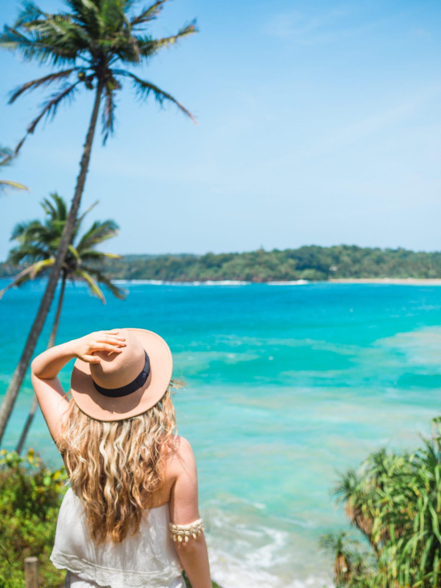 Favorite travel photos of 2016 - Talalla Beach, Sri Lanka
