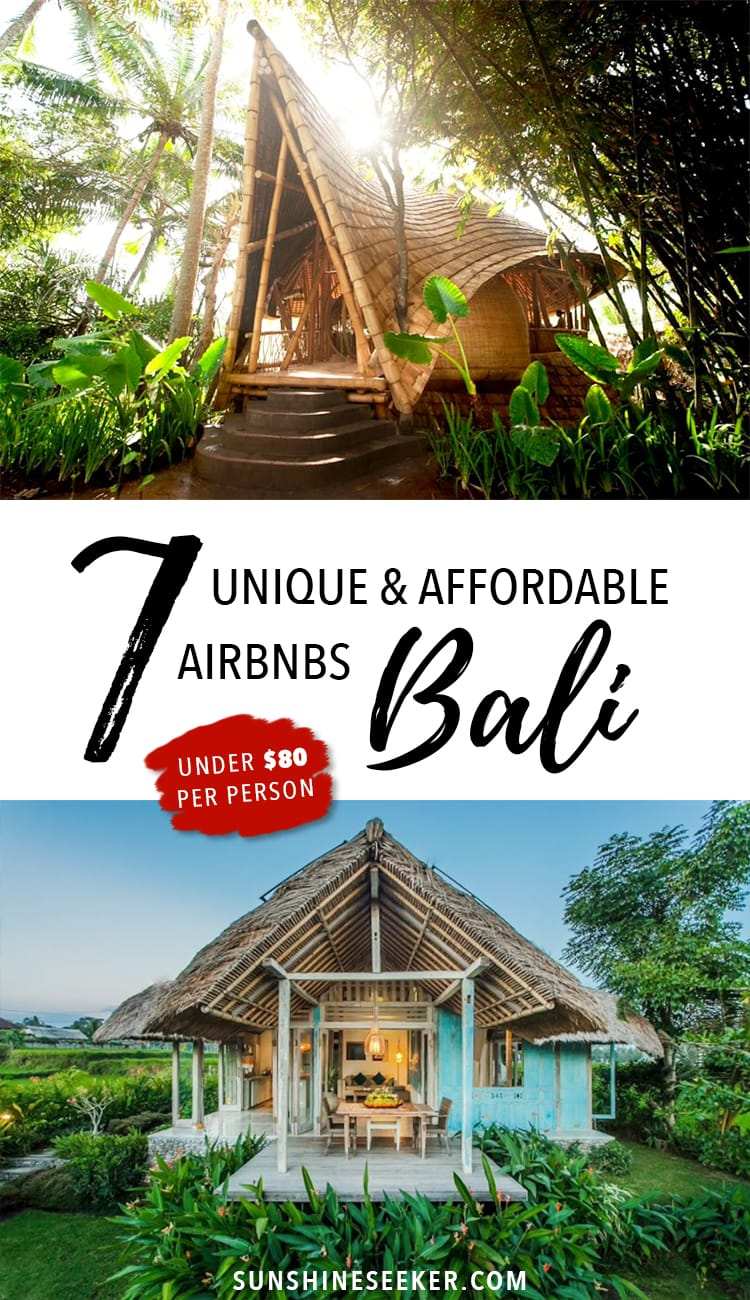 7+ unique and affordable Bali airbnbs - Bali, Indonesia