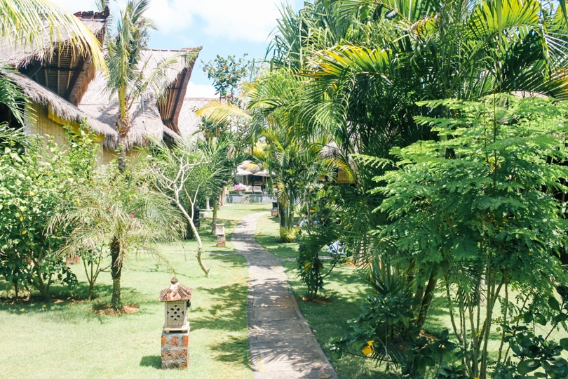 Top 5 best beaches in Bali, Indonesia - Flower bud Bungalows Balangan Beach