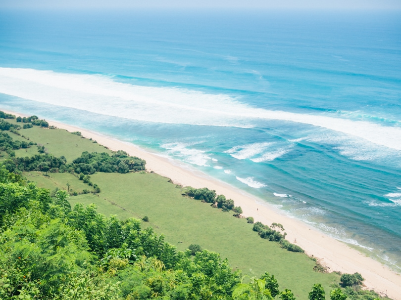 Top 5 best beaches in Bali, Indonesia - Nyang Nyang Beach
