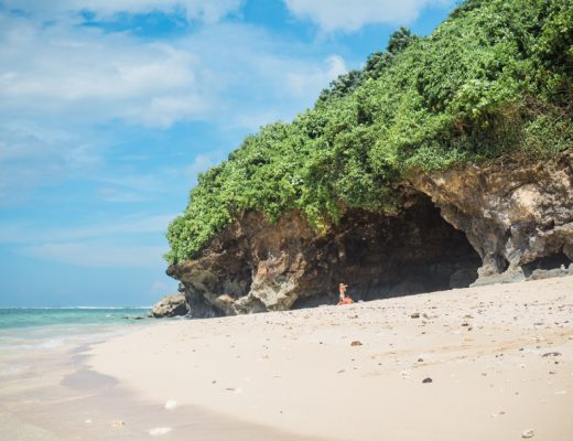 Top 5 best beaches in Bali, Indonesia - Green Bowl Beach
