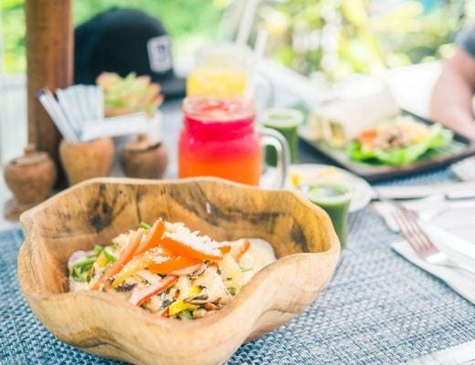 The best Bali restaurants- Buddha Soul Padang Padang, healthy food