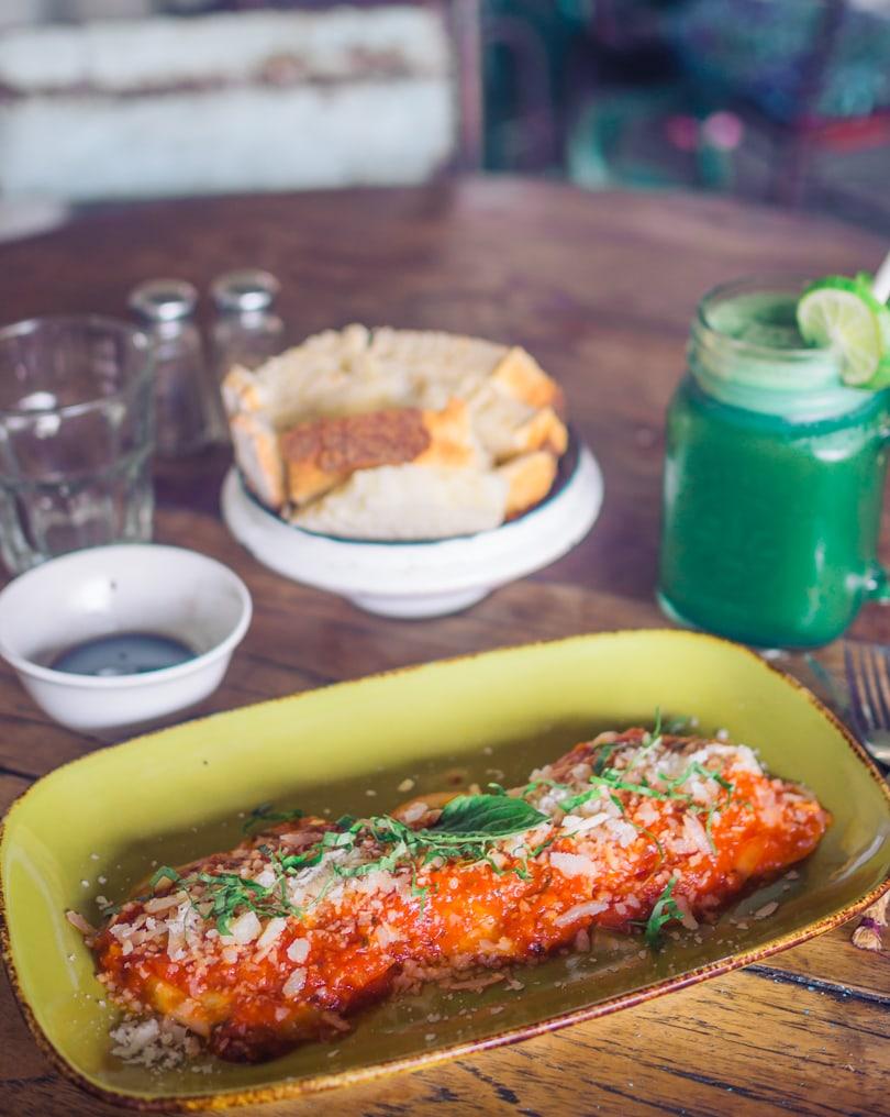The best Bali restaurants - La Baracca Italian food Canggu & Seminyak