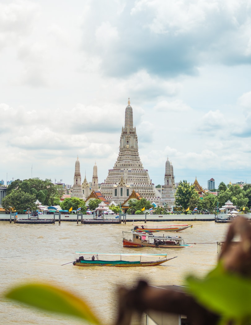 Top 20 sights & attractions not to miss in Bangkok, Thailand - Wat Arun View from Arun Residence Hotel