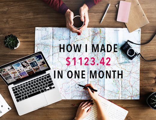 Travel blog income report September 2017 - Blogging tips for beginners