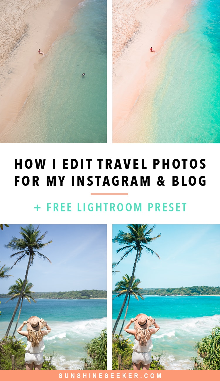 How-To-Edit-Travel-Photos-Free-Lightroom-Presets | Sunshine Seeker