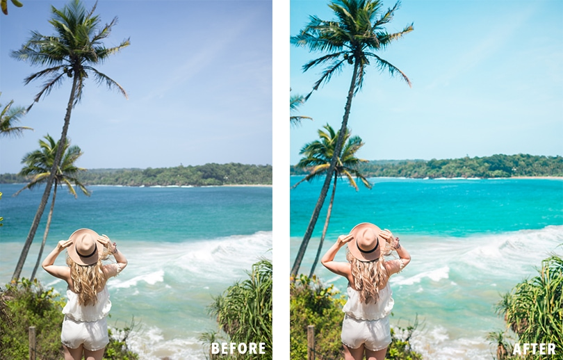 Learn how I edit my travel photos for Instagram & my blog + Get a free Lightroom preset