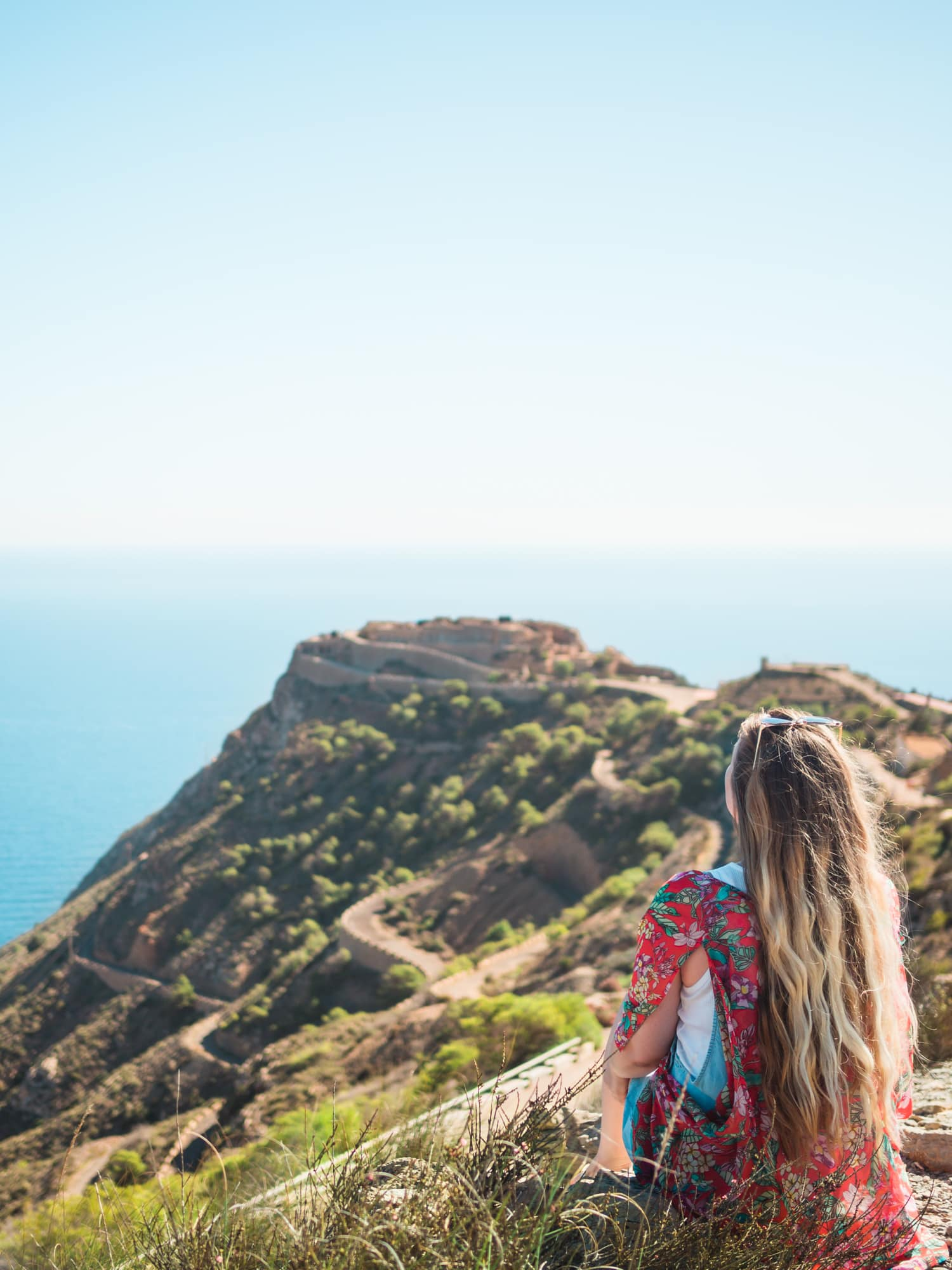 Bateria de Castillitos outside Cartagena in Murcia, Spain - Favorites 2017 travel blog