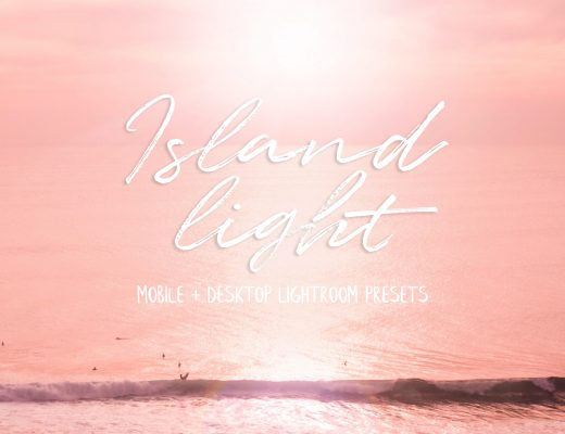 Island Light Lightroom presets for travel photos - Desktop + Mobile