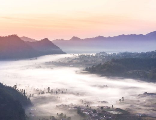 Sunrise over Pinggan Village in Bali - An incredible experience you can't miss #pinggan #pingganvillage #bali #indonesia #bucketlist