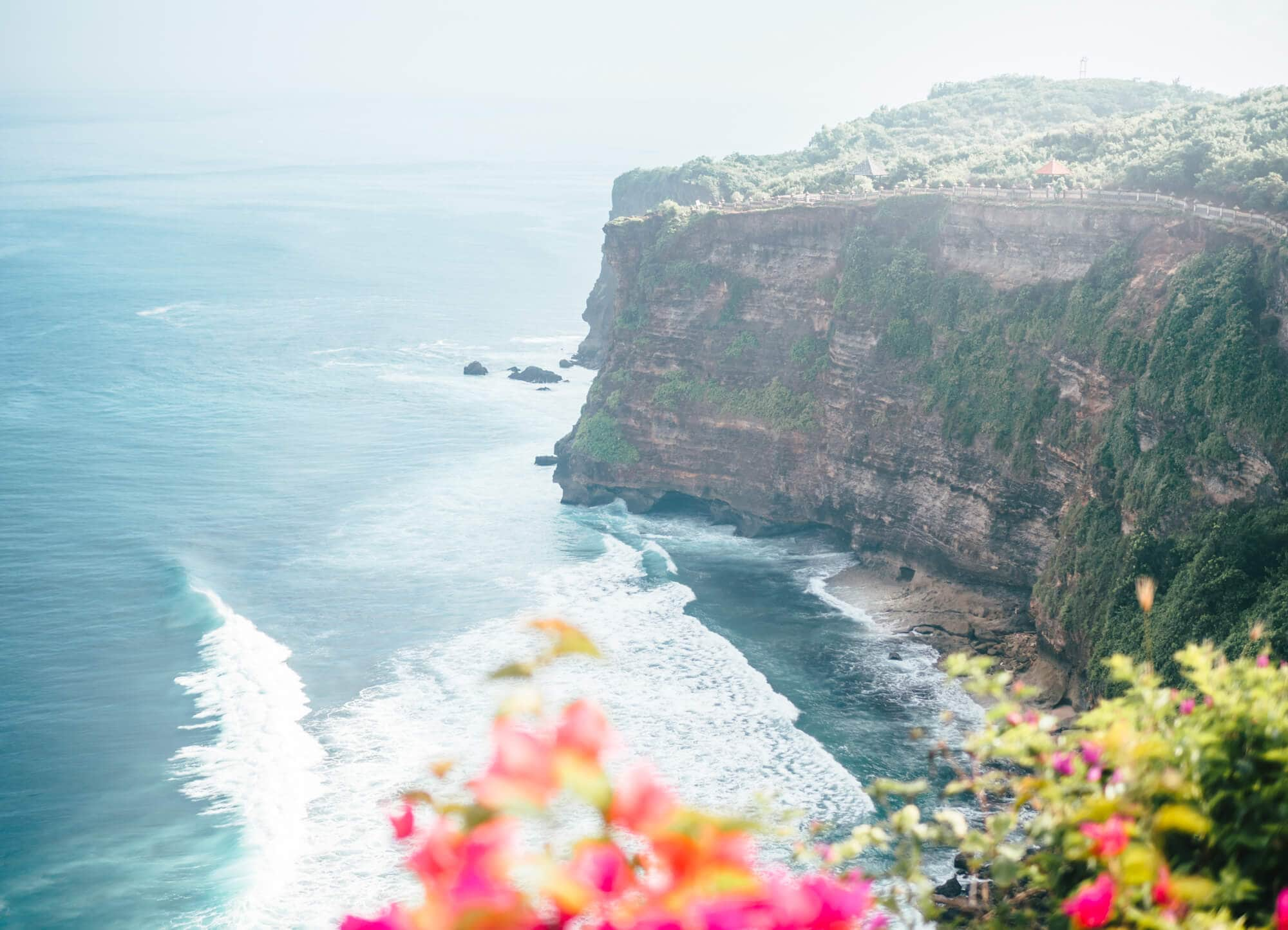 Amazing view from Pura Luhur Uluwatu temple in Bali - The ultimate Bali Bucket List 2018