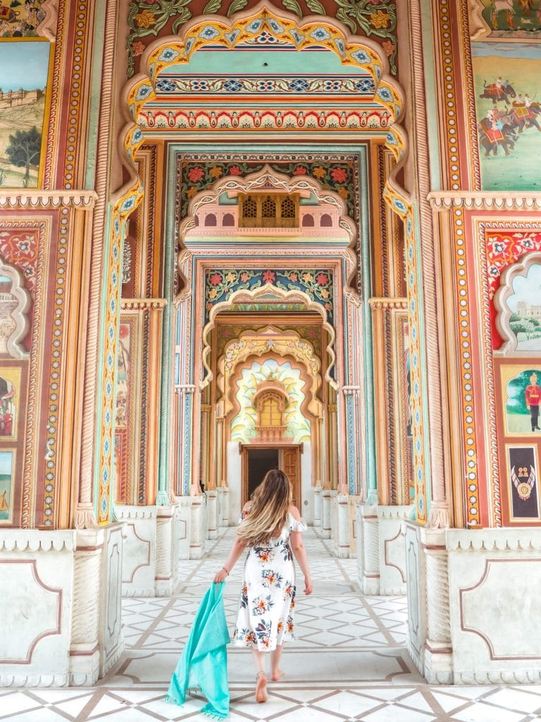 How to spend 2 days in Jaipur - The colorful Jawahar Circle Garden