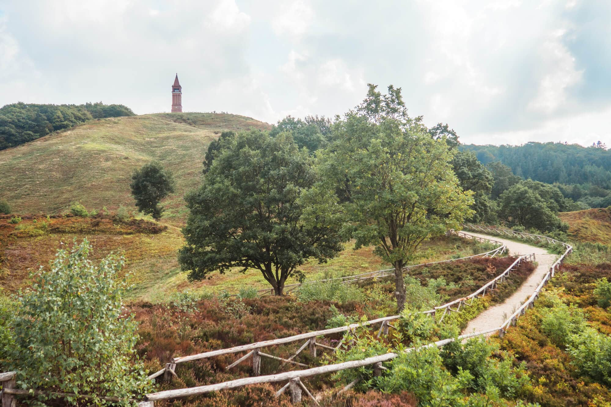 3 awesome day trips from Aarhus - Himmelbjerget in Skanderborg
