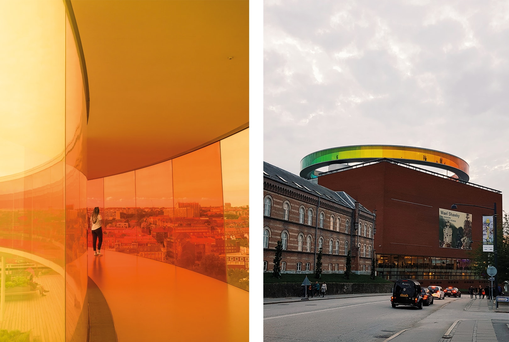Two days in Aarhus - Denmark's happiest city. Your Rainbow Panorama at ARoS Aarhus Art Museum